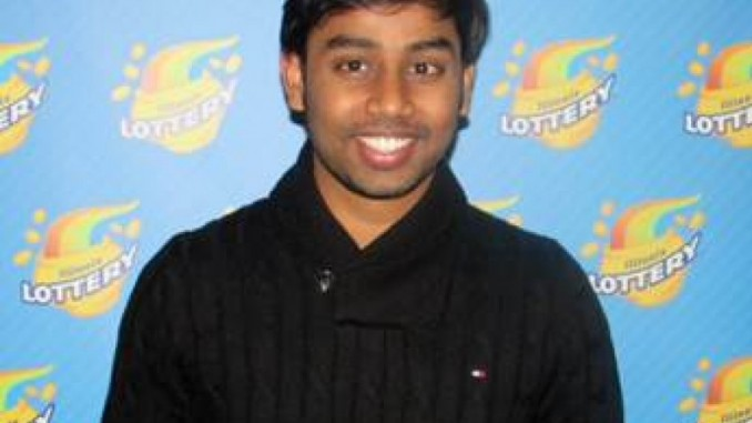 Nirmal-Dhamodarasamy-A-Chicago-Student-Wins-1-Million-In powerball lottery