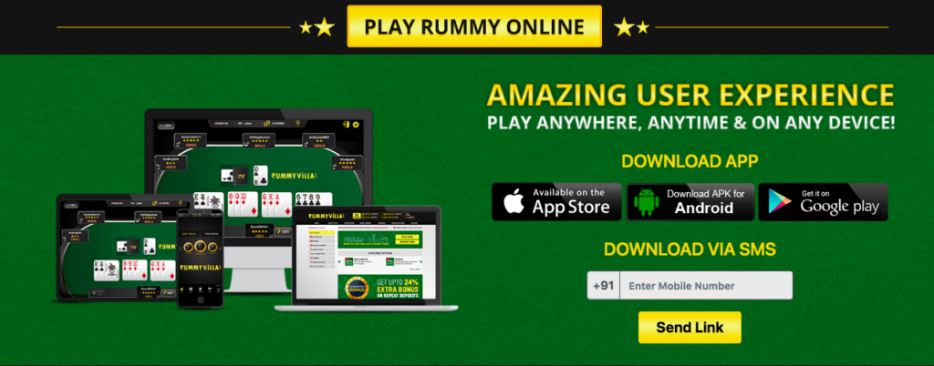 How to download RummyVilla app