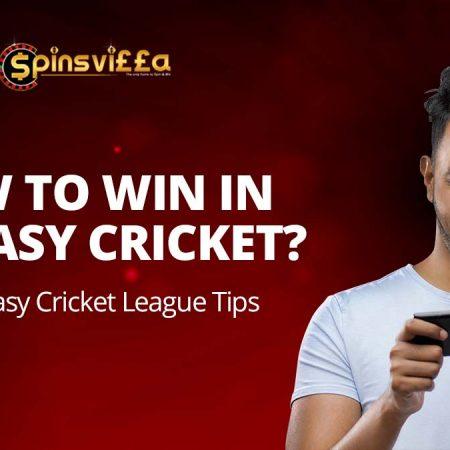 Top 10 Fantasy Cricket Tips