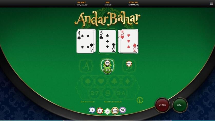 Sreenshot of Andar Bahar Game Tips and Guide