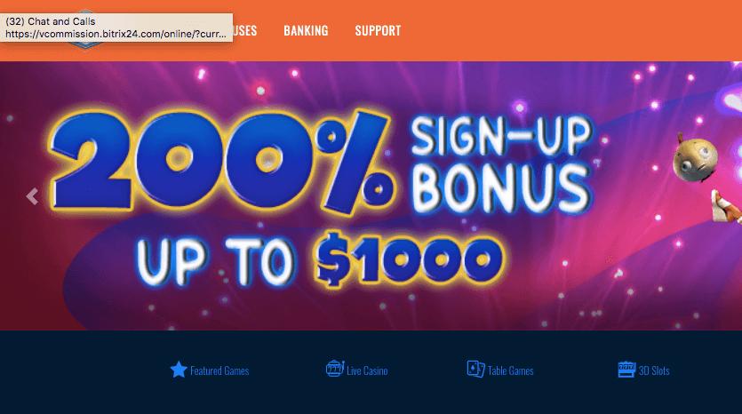BigSpin Casino Bonus Image