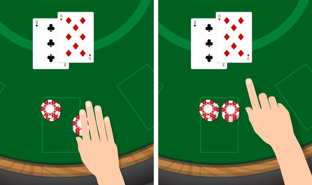 Blackjack Double Down info image