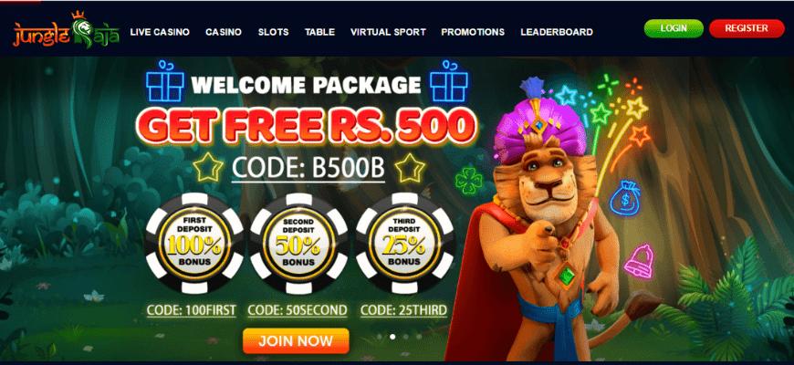 jungleraja website banner