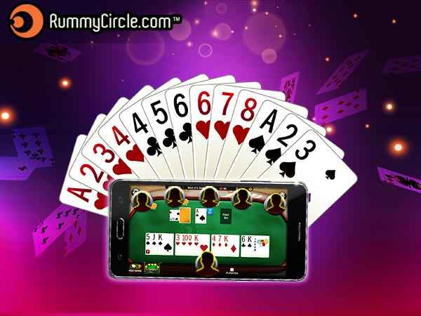 Rummycircle mobile game lobby