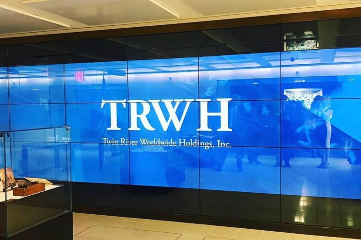 Twin River Worldwide Holdings reported a growth in their annual revenue