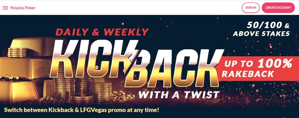 9stacks rakeback offer