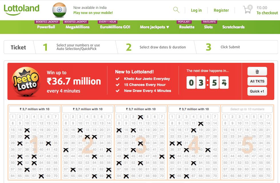 Jeeto lotto