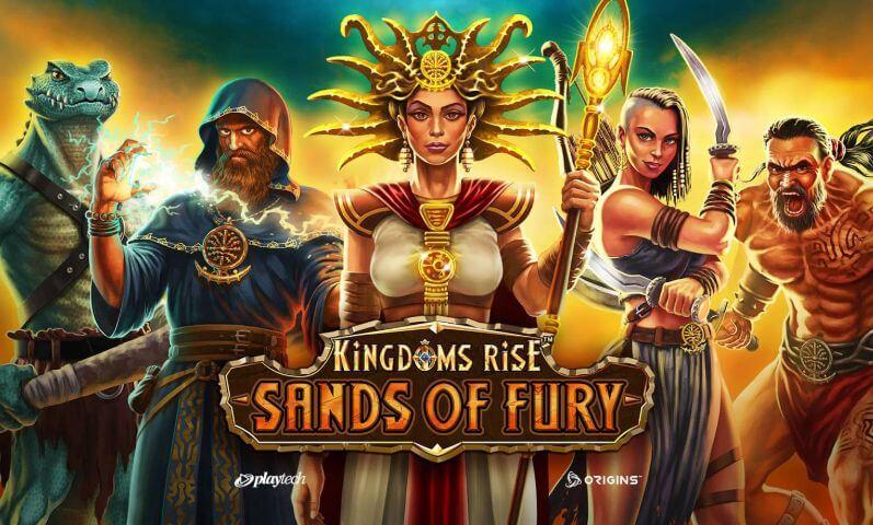 Kingdoms Rise sands of fury online slot