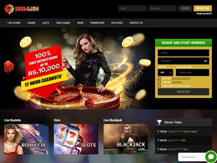 Showlion Online Casino