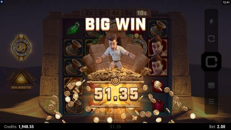 jungle jim slot big win