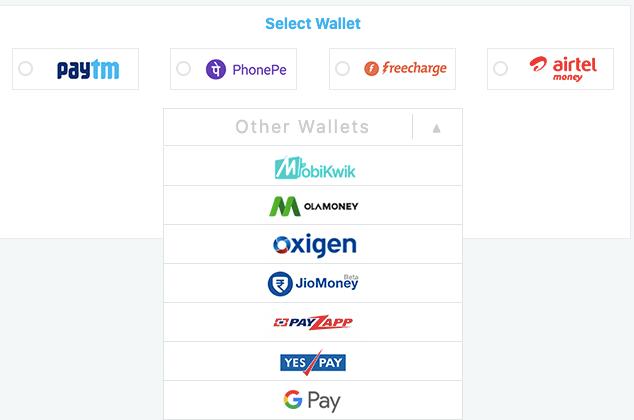 Choose GooglePlay payment method
