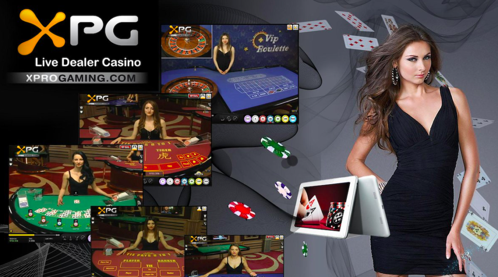XPG Gaming Live Casino games