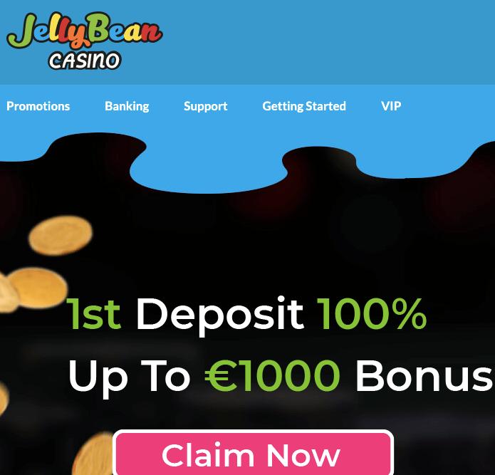 jellybean casino welcome bonus