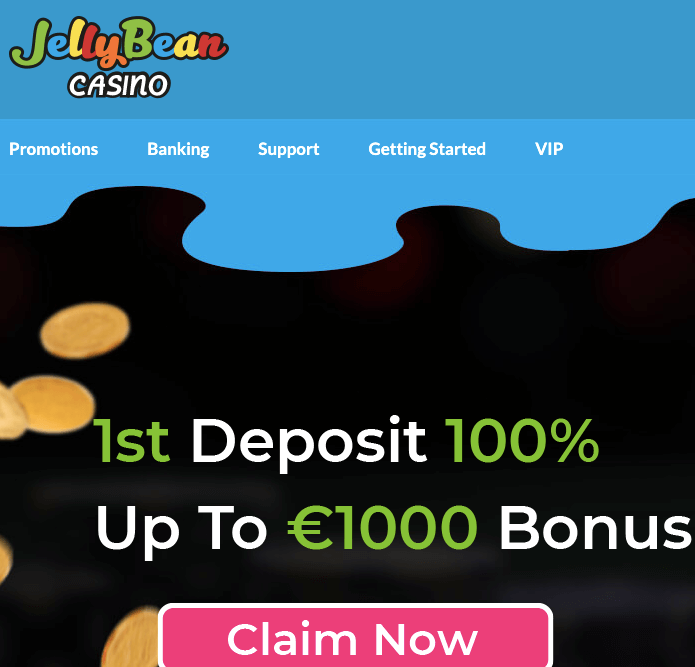 jellybean casino welcome bonus