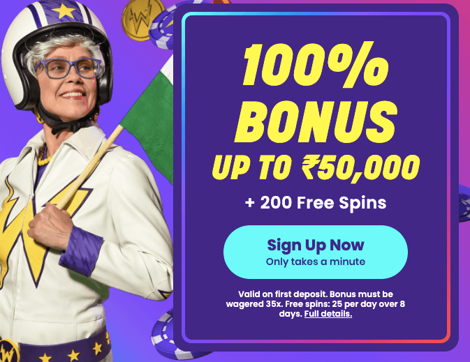 Wildz Casino Welcome Bonus