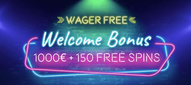 Vegaz Casino Welcome Bonus