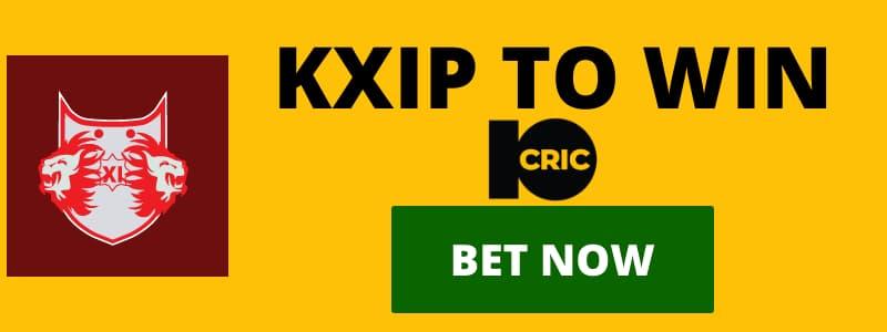 KXIP to win IPL betting odds