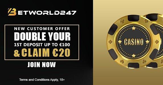 Betworld247 Casino Bonus
