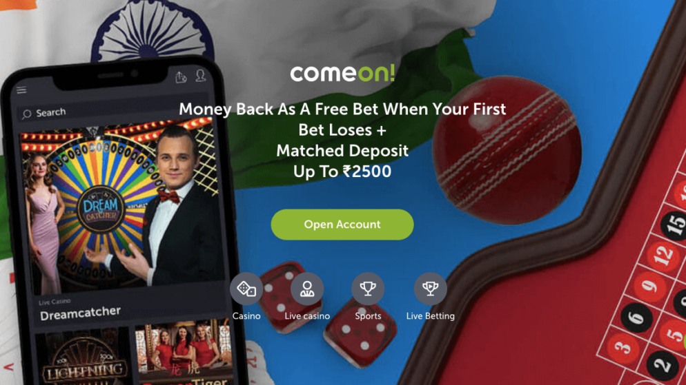 Can I Deposit Indian Rupees on ComeOn?
