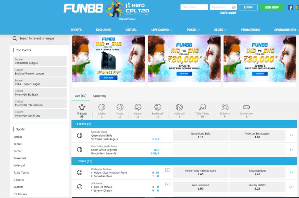 fun88 india site