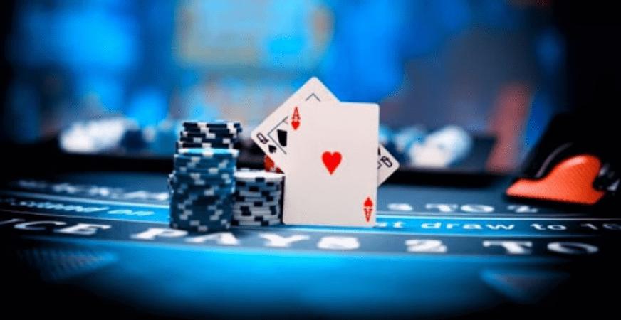 live blackjack online image with cards