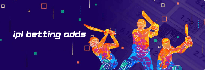 ipl betting odds banner with 3 player
