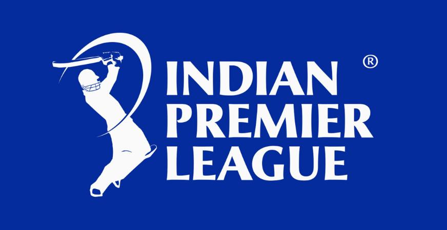 ipl logo with blue background